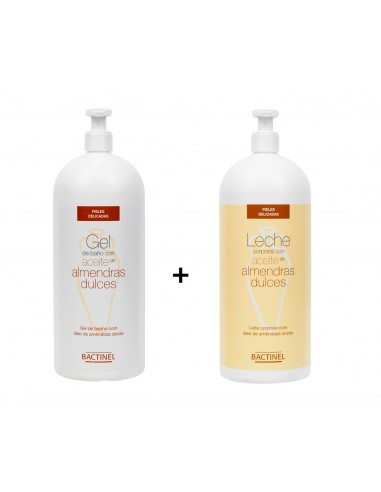 PACK BACTINEL LECHE + GEL ACEITE...