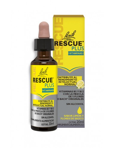 BACH RESCUE PLUS VITAMINAS GOTAS 20 ml